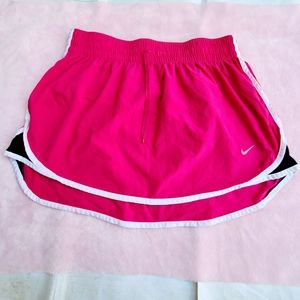 Nike Dri-Fit running pink skirt size Medium